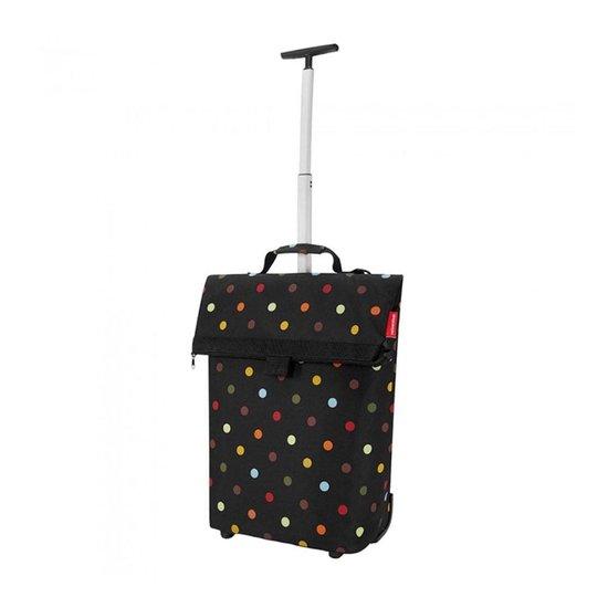Reisenthel Trolley M Boodschappentrolley - Polyester - 43 L - Dots Zwart