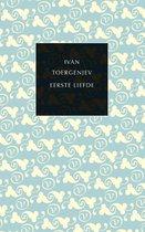 Boek cover De kleine Russische bibliotheek  -   Eerste liefde van Ivan Toergenjev