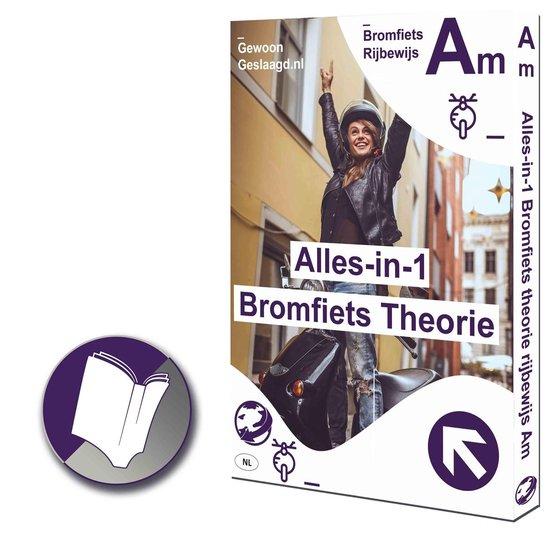ScooterTheorie Boek 2020 Rijbewijs Am | CBR 2020 | Nederland - Verkeersborden | Gewoon Geslaagd – Bromfiets theorie-box| Rijles Brommer Theorie Leren - Leertheorie |