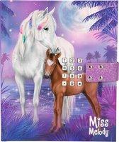 Miss Melody een gecodeerd en speels dagboek paarden