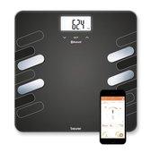 Beurer BF600 - Personenweegschaal lichaamsanalyse - Bluetooth - 180kg - Zwart