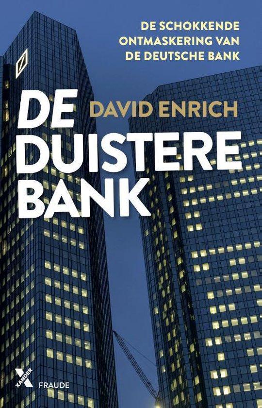 Boek cover De duistere bank van David Enrich (Paperback)