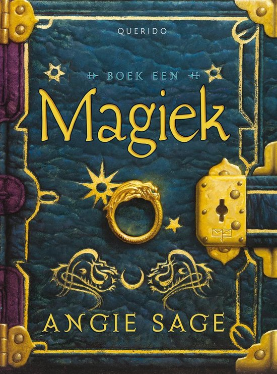 Boek cover Septimus Heap 1 - Magiek van Angie Sage (Paperback)