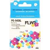 FLWR - Inktcartridge / PG-545XL / Zwart - Geschikt voor Canon