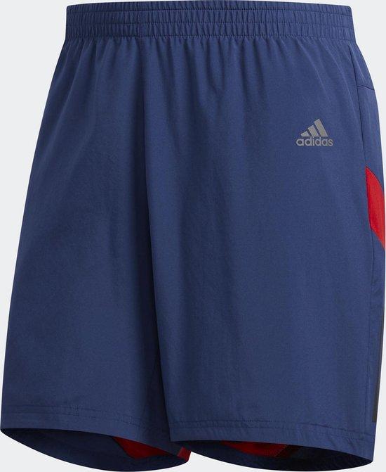 adidas Own The Run Sho Sportbroek Heren - Tech Indigo - Maat 2XL