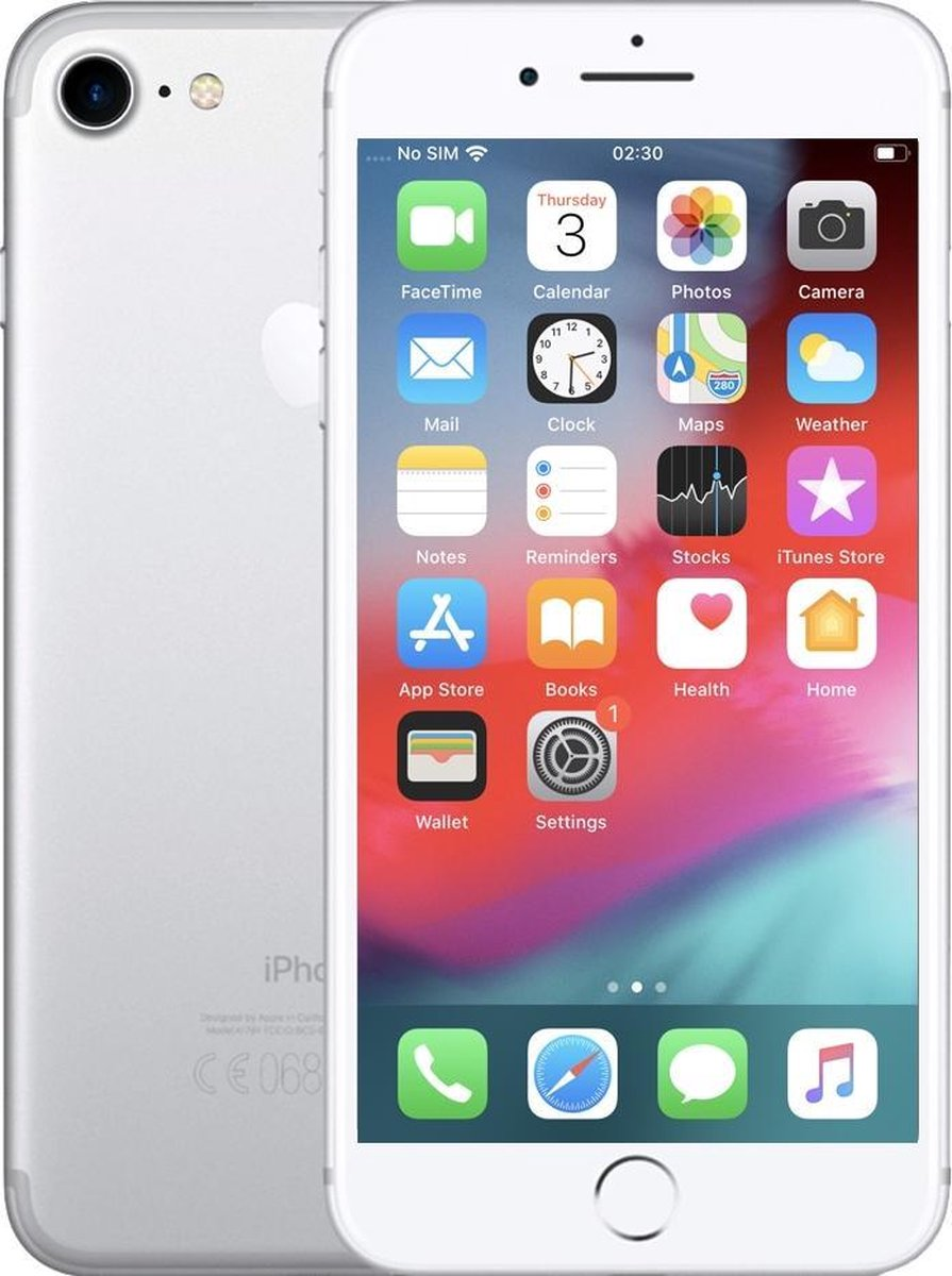 Apple iPhone 7 - Refurbished door Renewd - A Grade (zo goed als nieuw) - 32GB - Zilver