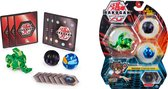 Bakugan Starter Pack met 3 Bakugan: Ultra Ventus Trunkanious, Basic Darkus Nillious, Basic Aquos Vicerox