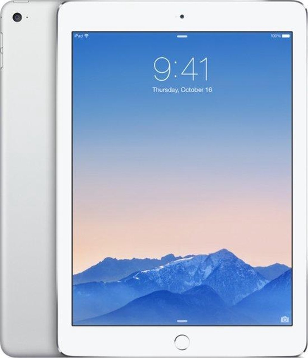 Apple iPad Air 2 refurbished door Forza - C-Grade (Zichtbare gebruikssporen) - 64GB - Cellular (4G) - Zilver