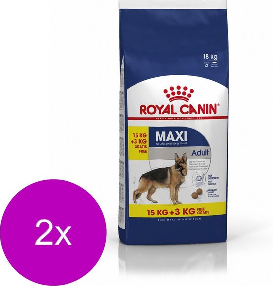 Royal Canin Shn Maxi Adult - Hondenvoer - 2 x 18 kg