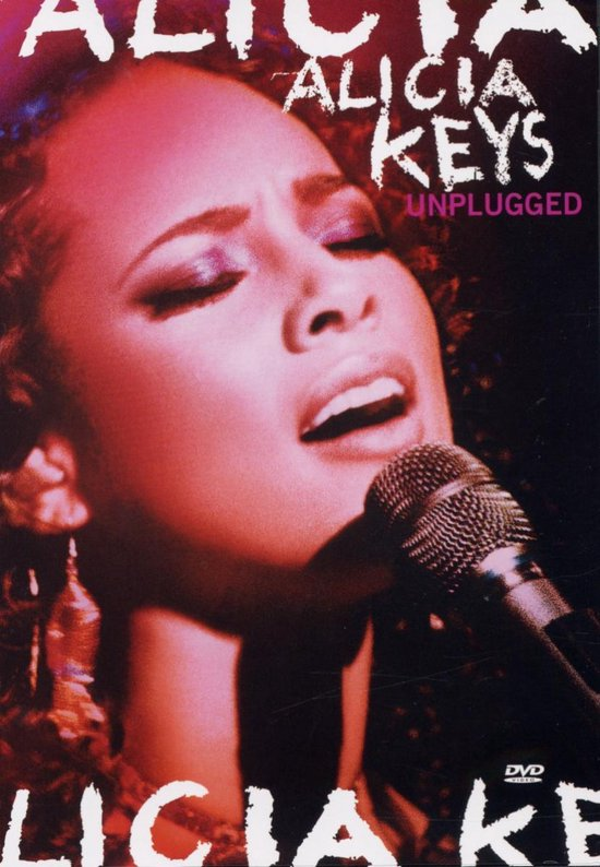 Cover van de film 'Alicia Keys - Mtv Unplugged'