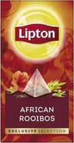 Lipton - Exclusive selection Afrikaanse rooibos thee - 25 Pyramide zakjes