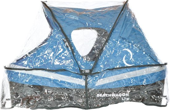 Beach Wagon LITE® Regen- en windhoes Transparant