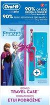 Oral B Disney Frozen - Elektrische Tandenborstel voor Kinderen - Inclusief Travel Case
