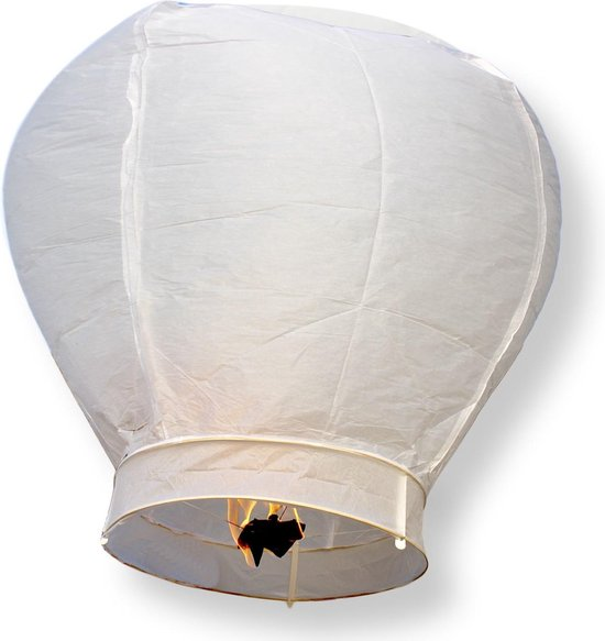 Wensballon XL Wit 1 meter