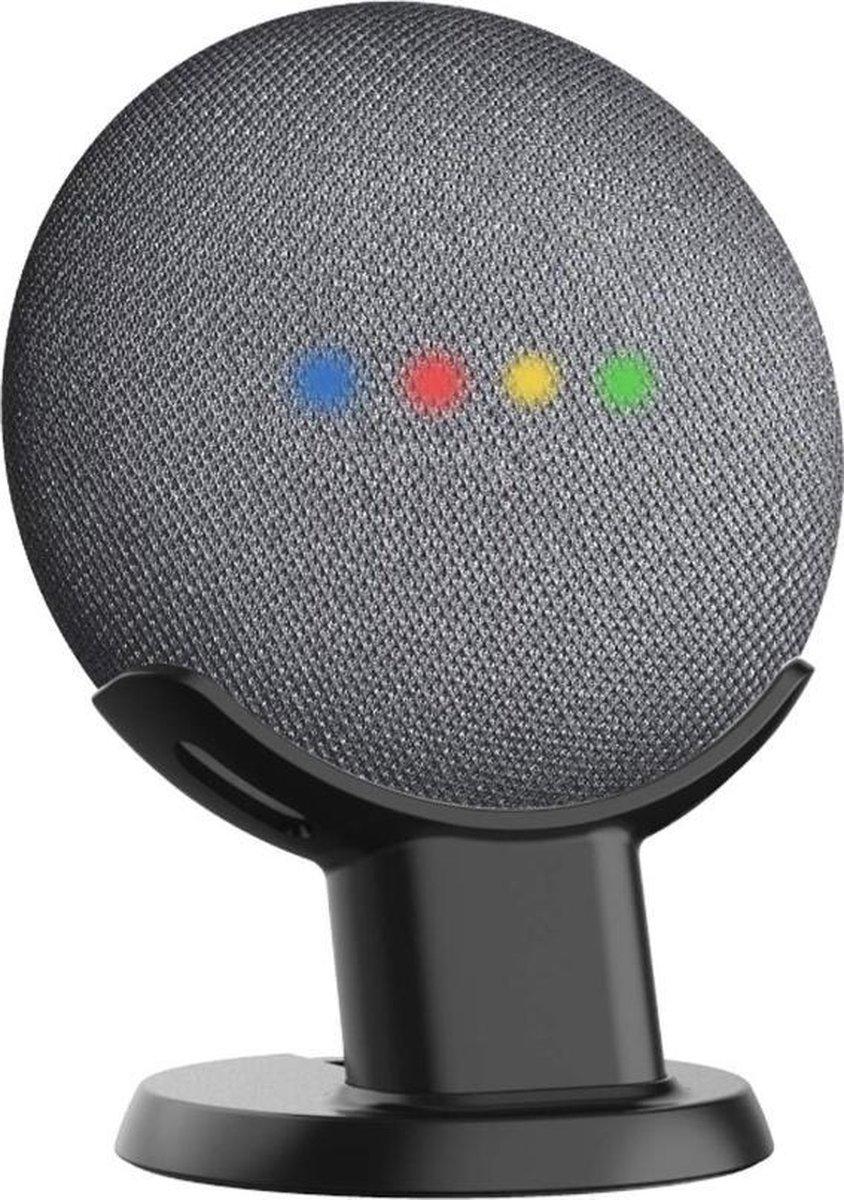 Antislip Tafel Standaard Houder Voor Google Nest Home Mini Smart Speaker - Zwart
