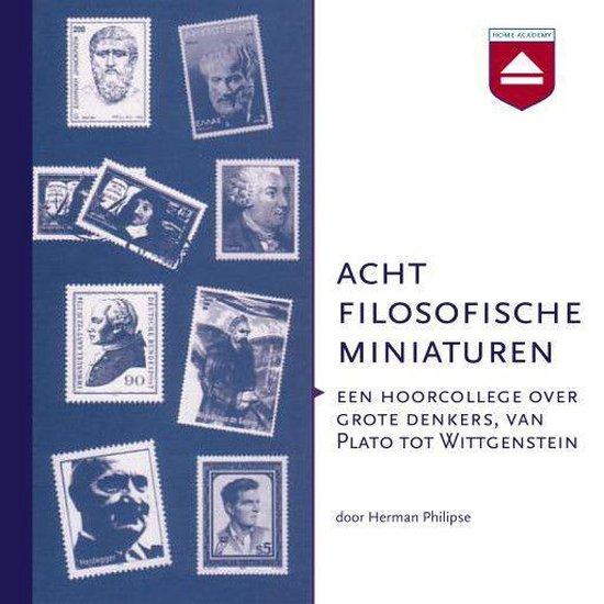 Boek cover Acht filosofische miniaturen van Herman Philipse (Onbekend)