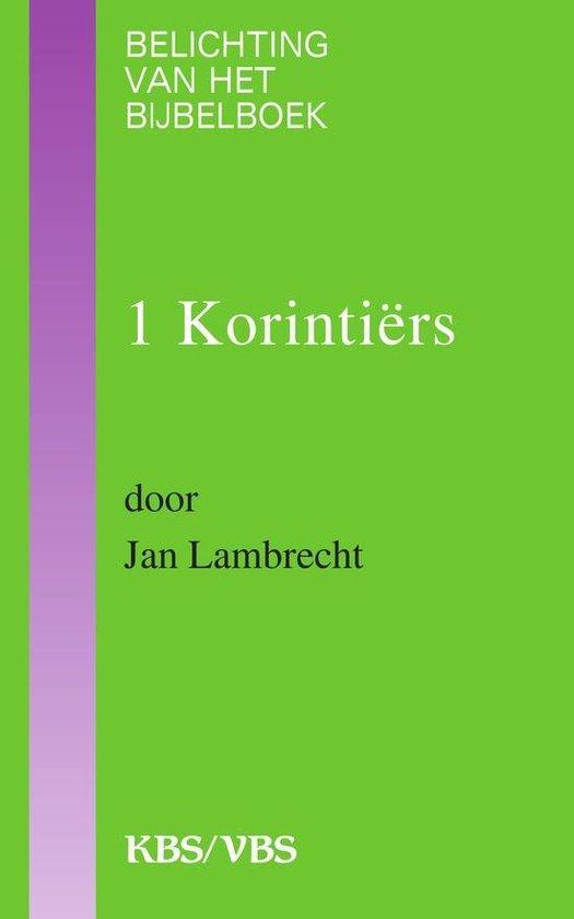 Cover van het boek '1 Korintiers / druk 1' van Jan Lambrecht