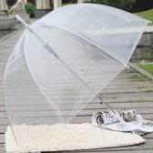Elegante Transparante Paraplu - Winter