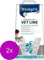 Biokat's Diamond Care Attracting&Calming - Kattenbakvulling - 2 x 10 l
