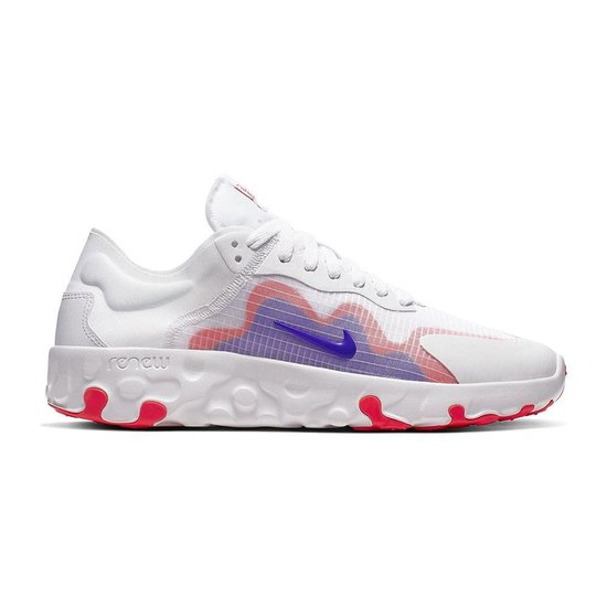 Nike Renew Lucent sneakers heren wit/rood/blauw