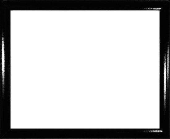 Homedecoration Colorado – Fotolijst – Fotomaat – 50 x 83 cm – Hoogglans zwart
