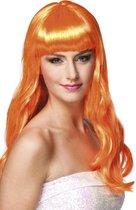 Pruik Chique - Oranje