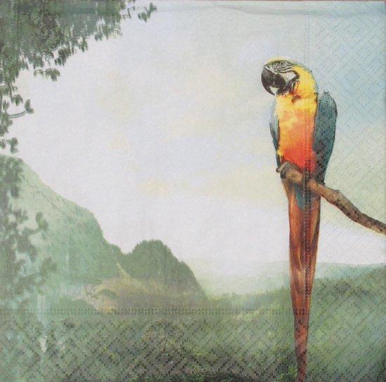 Servetten Parrot 33 x 33 cm