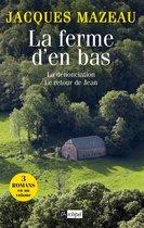 Boek cover La ferme den bas van Jacques Mazeau