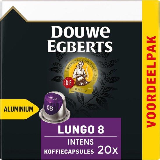 Douwe Egberts Lungo Intens koffiecapsules - 10 x 20 cups - voordeelpak
