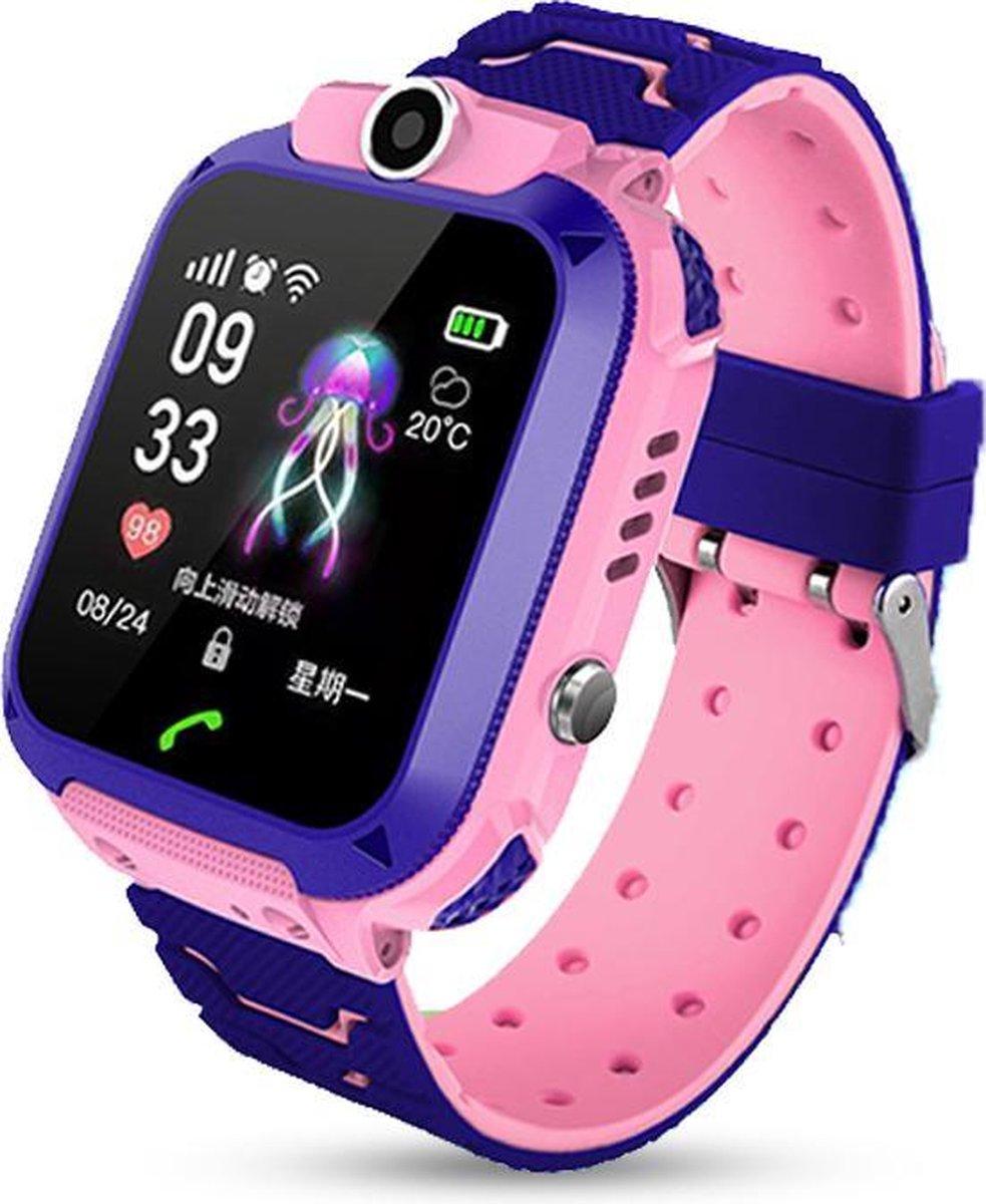 E-Shoppr® Leercomputer Horloge - GPS Horloge Kind - Roze