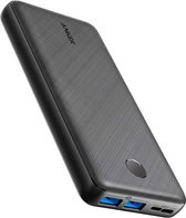 Anker PowerCore Essential 20000 Power Bank 20000 mAh External Battery with PowerIQ Technology and USB-C Input, High Energy Density, Compatible with iPhone, Samsung, iPad and More