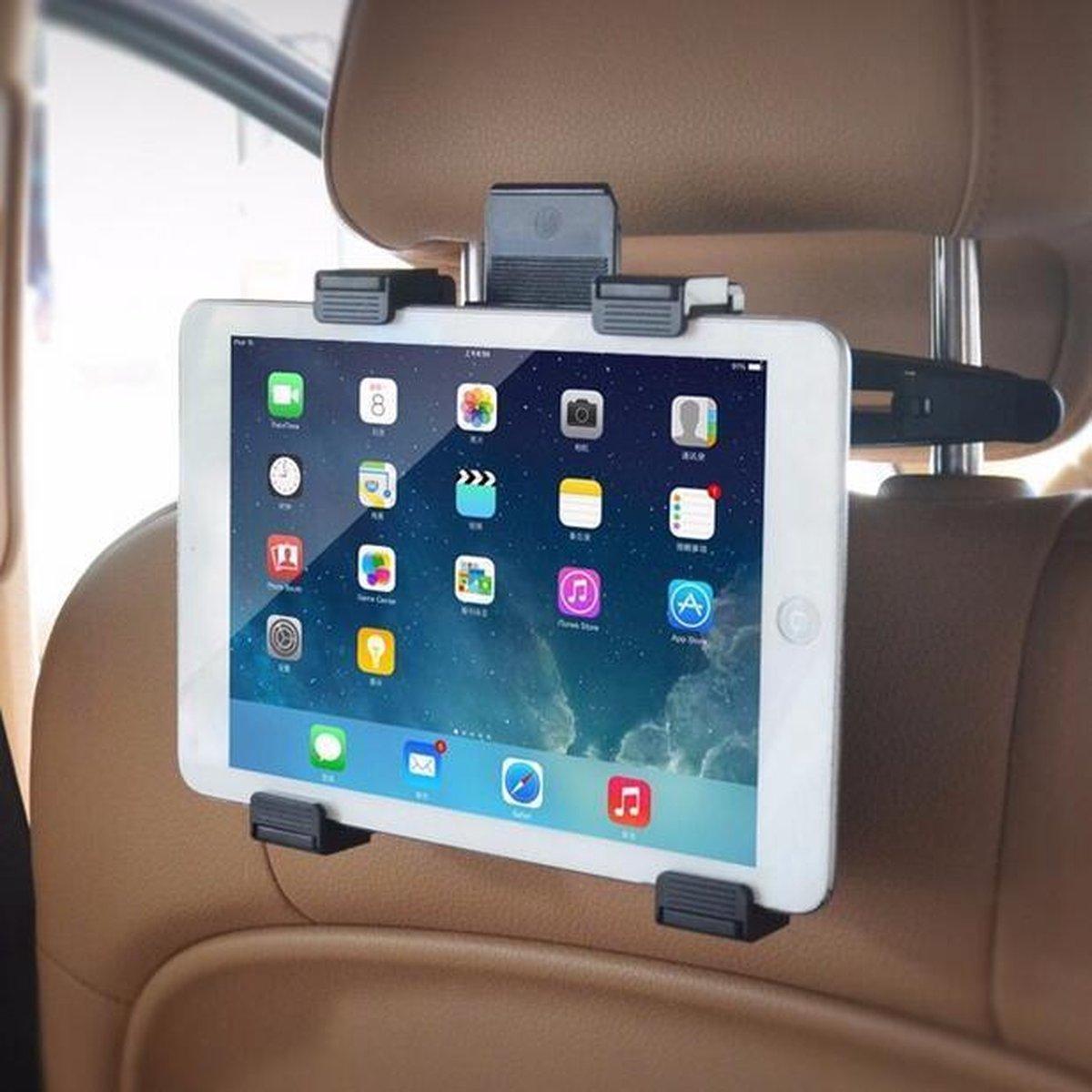 Autohouder Tablet - hoge kwaliteit - universeel - Telefoon - Auto - Reis - Kinderen - Gamen - video - wintersport - vakantie