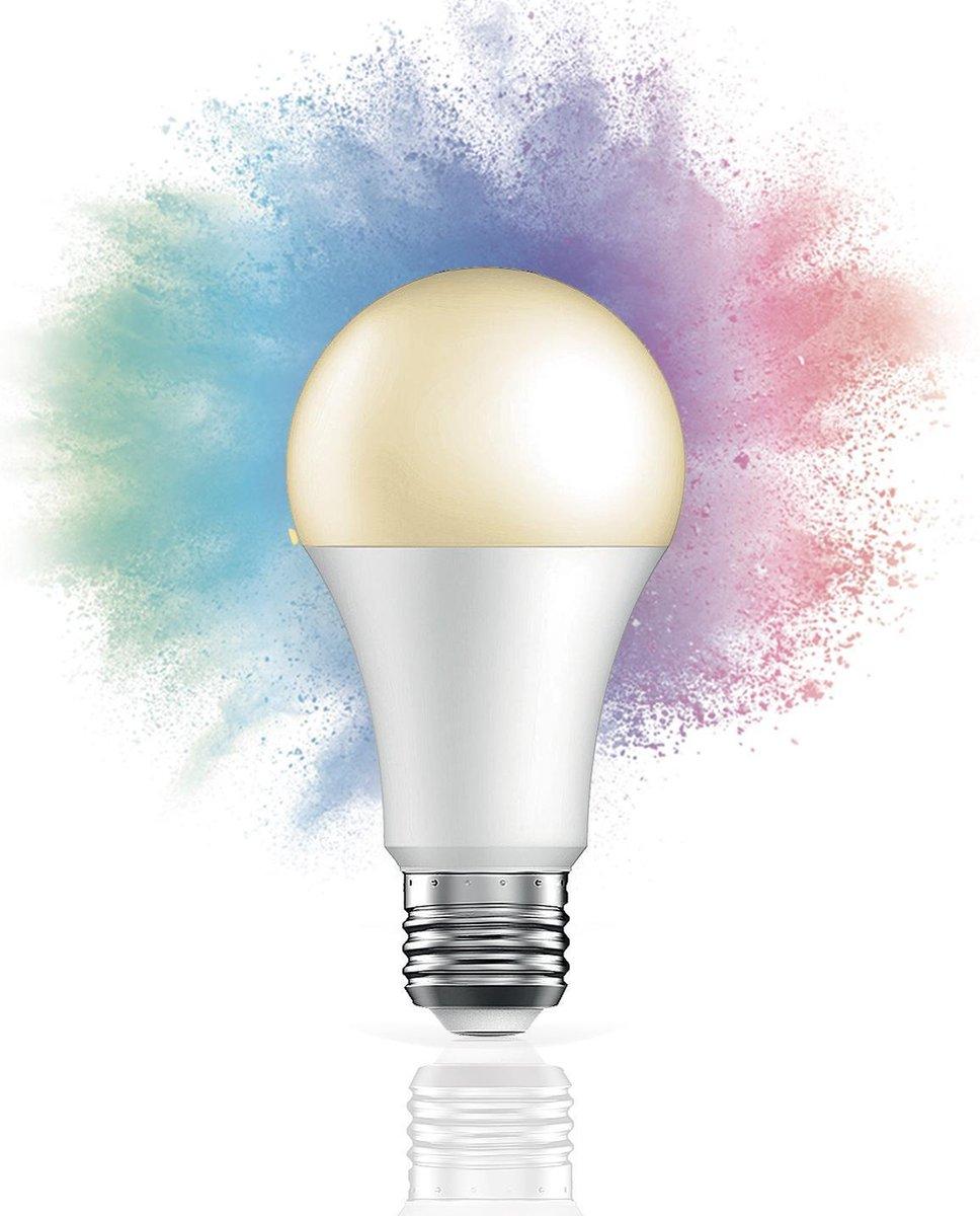 QNECT Lichtbron - LED - E27 - Slimme lamp - Werkt op Wifi