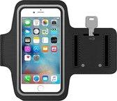 MMOBIEL Sport / Hardloop Armband (ZWART) voor iPhone 11 Pro Max / 11 / XR / XS Max / 8 Plus / 7 Plus / 6S Plus / 6 Plus - Spatwatervrij, Reflecterend, Neopreen, Comfortabel, Verstelbaar, Koptelefoon Aansluitruimte en Sleutelhouder