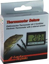 Lucky Reptile Thermometer Deluxe Digitaal -  9 x 7,5 x 2,2 cm