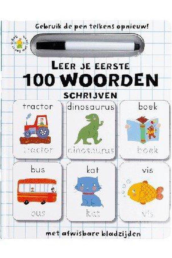 Boek - Leer je eerste woorden schrijven - Niet bekend  