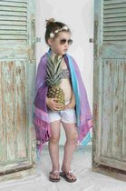 Kikoy Kinder Strandlaken Watamu Purple