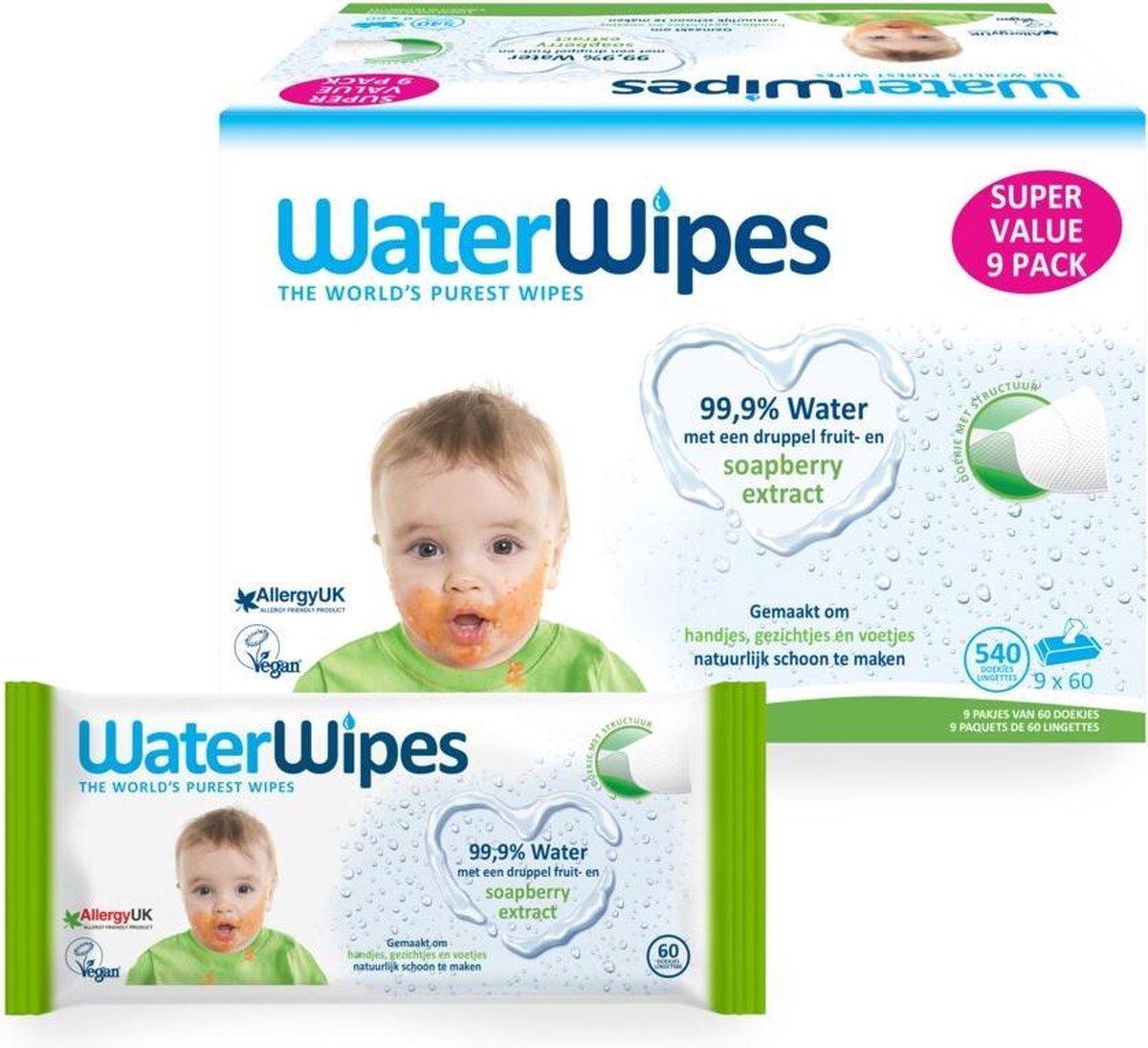 WaterWipes Snoetendoekjes 540 doekjes