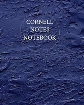 Cornell Notes Notebook: College Ruled Composition for Students, Writers & School Note-Taking. Cute Midnight Blue Cornell Note Paper Notebook