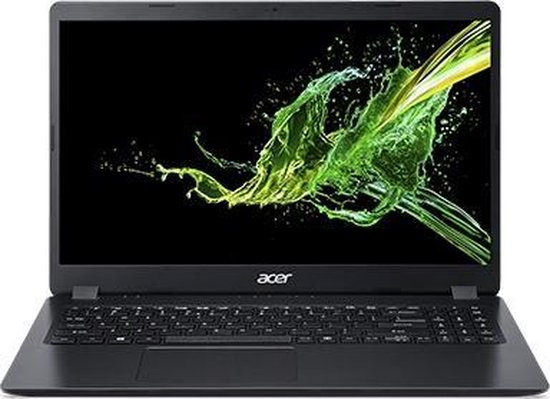 Acer Aspire 3 NX.HH8EH.00B notebook Zwart 39,6 cm (15.6'') 1920 x 1080 Pixels AMD Ryzen 3 8 GB DDR4-SDRAM 256 GB SSD Wi-Fi 5 (802.11ac) Windows 10 Home S