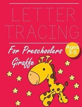 Letter Tracing for Preschoolers Giraffe: Letter a tracing sheet - abc letter tracing - letter tracing worksheets - tracing the letter for toddlers - A