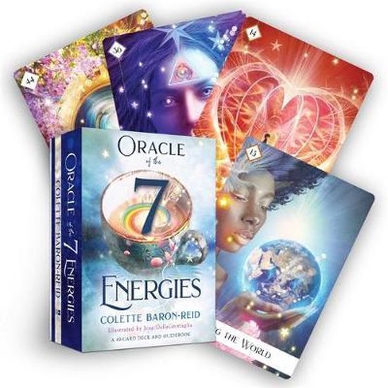 Boek cover Oracle of the 7 Energies van Colette Baron-Reid (Onbekend)