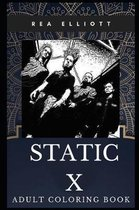 Static X Adult Coloring Book