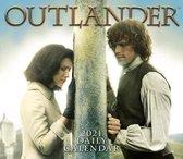 Outlander - Boxed, Daily Calendar 2021