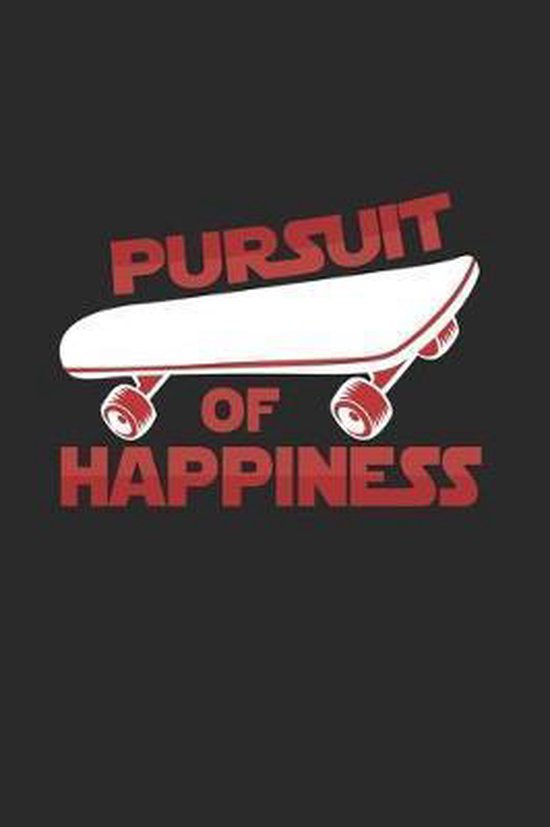 Pursuit of happiness: 6x9 Longboarding - dotgrid - dot grid paper - notebook - notes