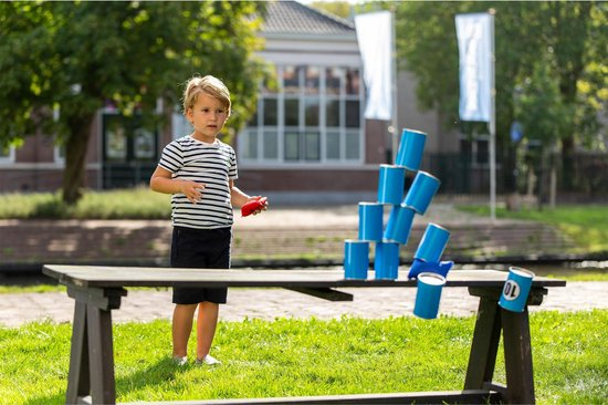 Outdoor Play Throwing Cans - Blikgooien