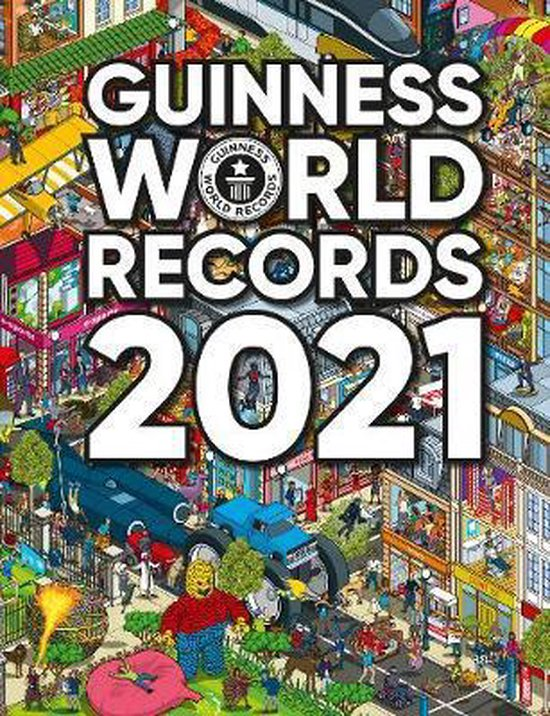 Boek cover Guinness World Records 2021 van Guinness World Records (Hardcover)