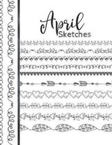 April Sketches: Astrology Sketchbook Activity Book Gift For Women & Girls - Daily Sketchpad To Draw And Sketch In As The Stars And Pla