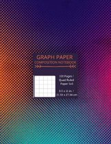 Quad Ruled 5x5 Graph Paper Composition Notebook: Graph Paper Composition Notebook Quad Ruled 5 squares per inch Ideal for Science & Math students and