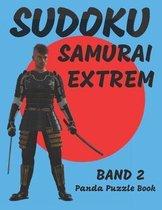 Sudoku Samurai Extrem - Band 2: Logikspiele F�r Erwachsene - Denkspiele Erwachsene